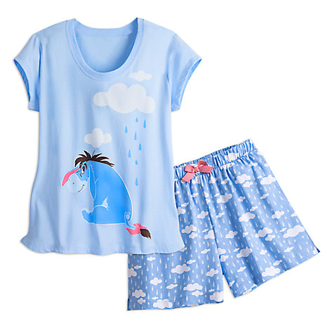 Eeyore Short Sleep Set for Women