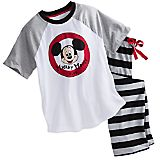 Mickey Mouse Club Pajama Set for Men