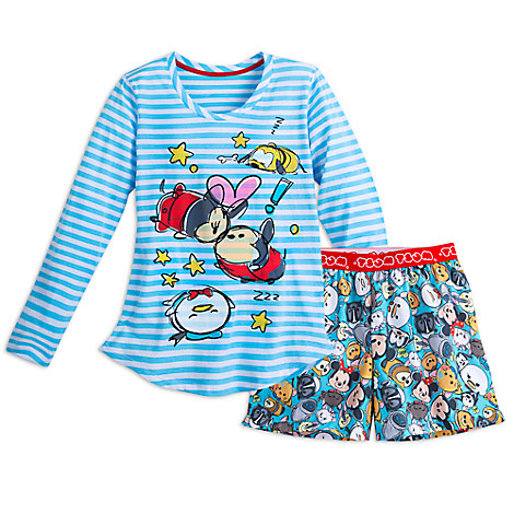 Mickey Mouse and Friends ''Tsum Tsum'' Sleep Set for Women