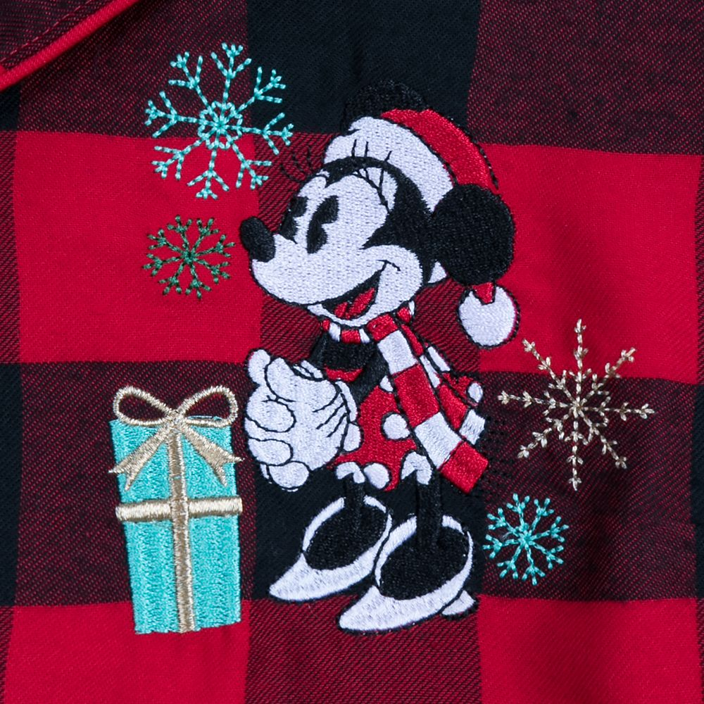 Minnie Mouse Holiday Plaid Nightshirt for Women – Personalized