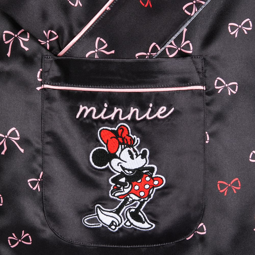 Minnie Mouse Satin Robe for Women