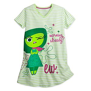 Inside Out Nightshirt for Women - Disgust 4901056062211M
