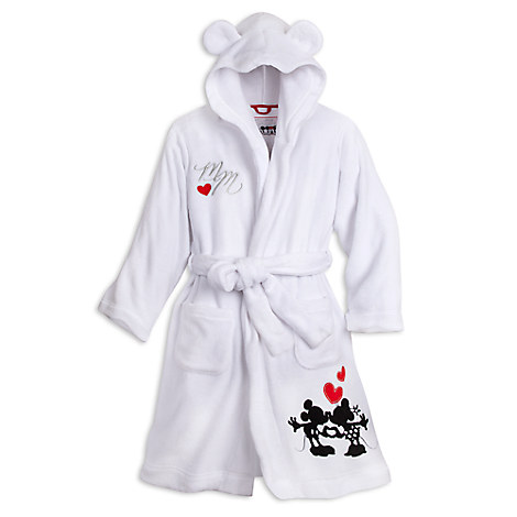 Mickey and Minnie Mouse Hooded Robe for Women - Personalizable
