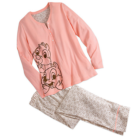 Chip 'n Dale Pajama Set for Women