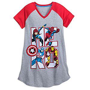 Marvel Comics Nightshirt for Women 4901057342248M