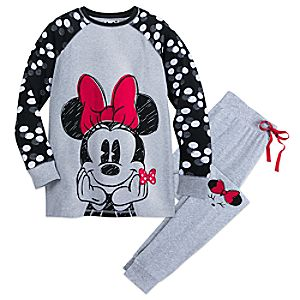 Minnie Mouse PJ Set for Women 4901057342268M