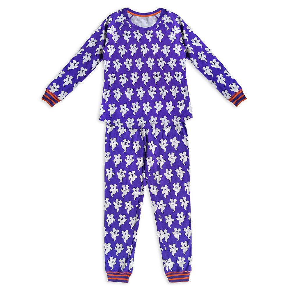 Mickey Mouse Halloween Pajama Set for Women