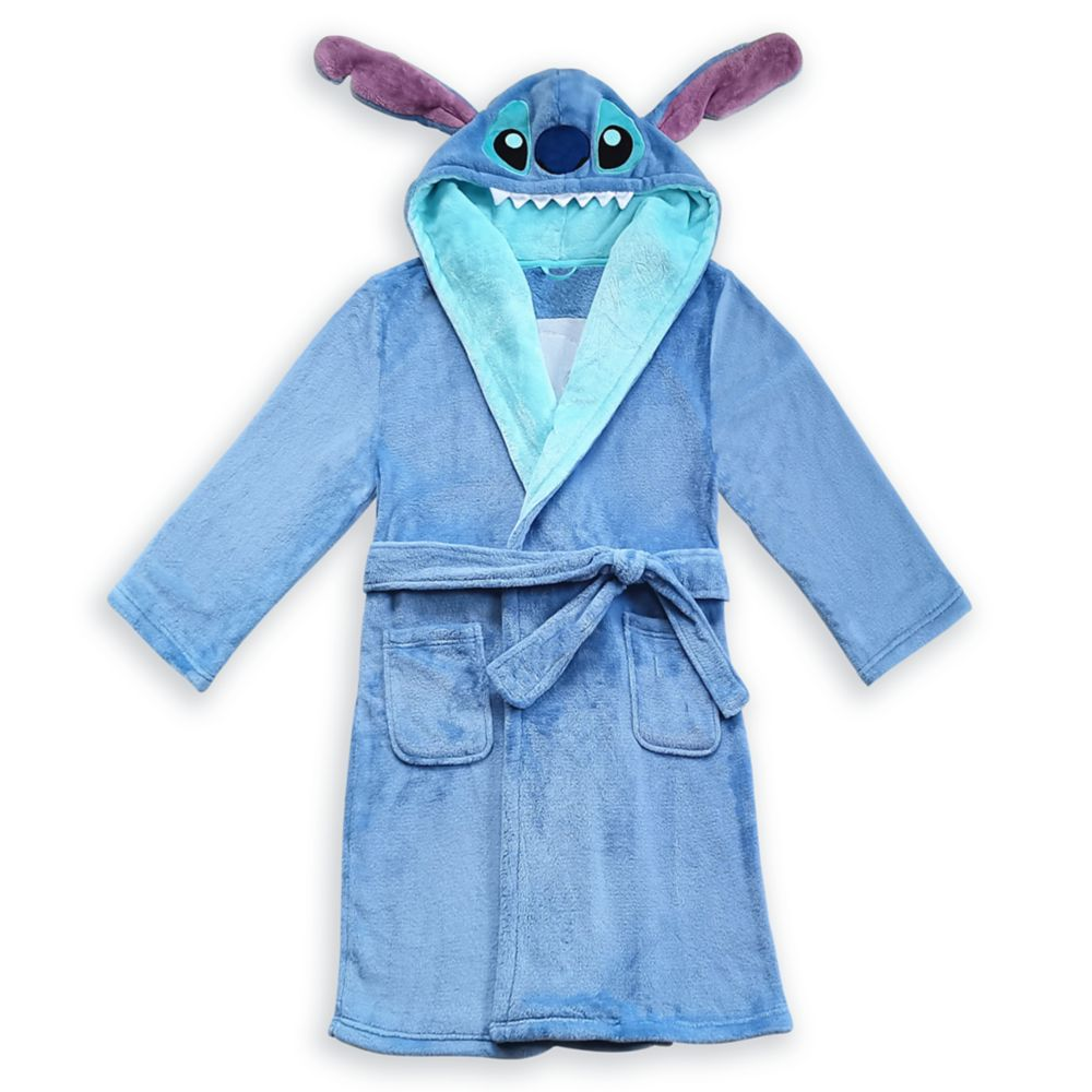 Stitch Plush Costume Robe for Women