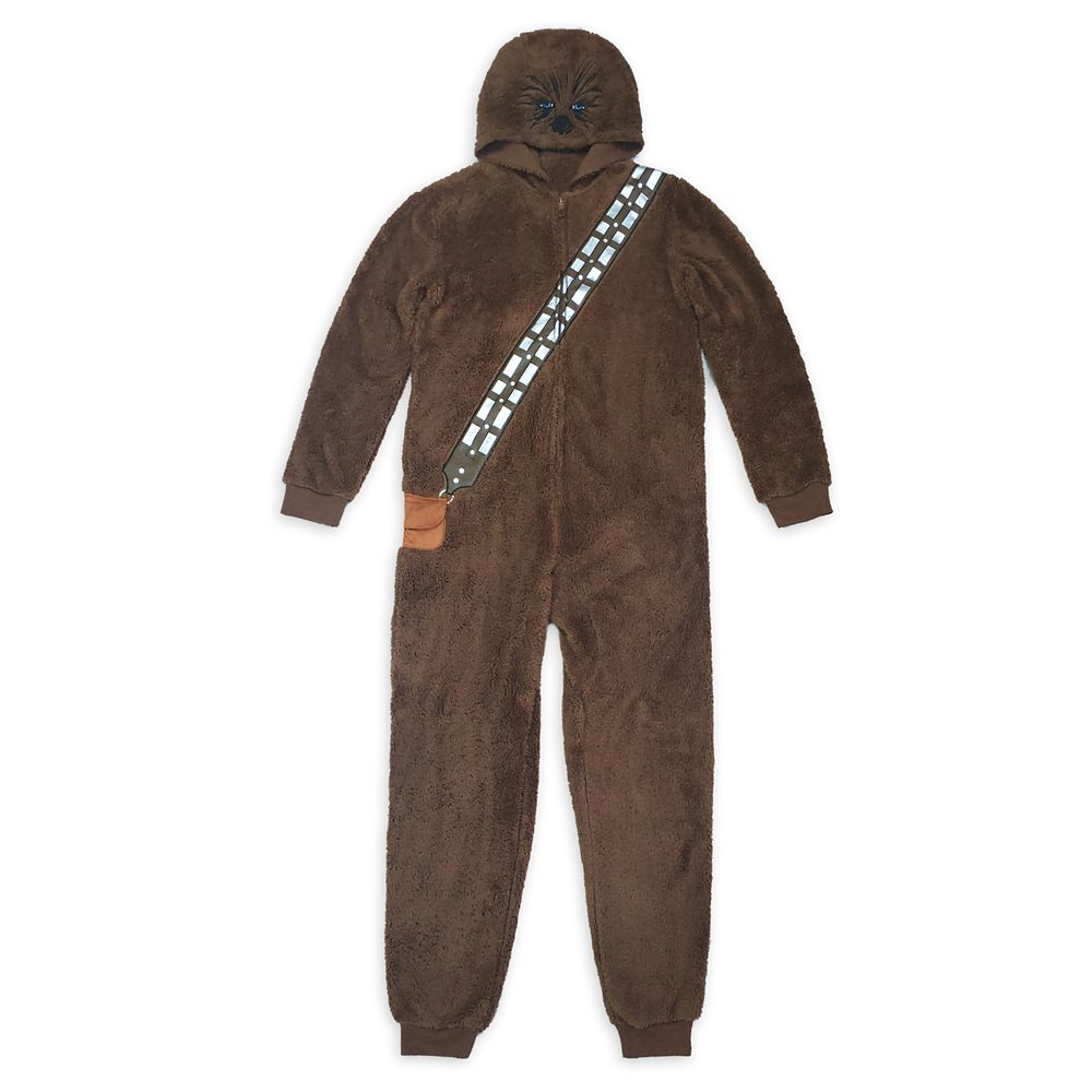 Chewbacca Costume One-Piece Pajama for Adults – Star Wars