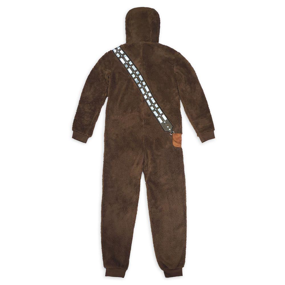 Chewbacca Costume One-Piece Pajama for Adults – Star Wars