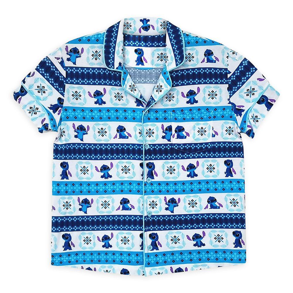 Stitch Pajama Set for Women