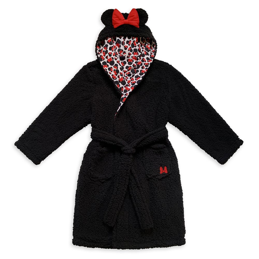 Minnie Mouse Plush Costume Robe for Women