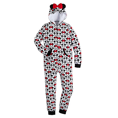 Mickey and Minnie Mouse MXYZ One Piece PJ for Women