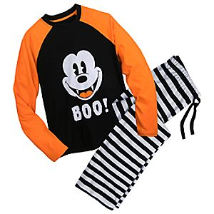 Mickey Mouse Halloween PJ Set for Men 4901057392164M