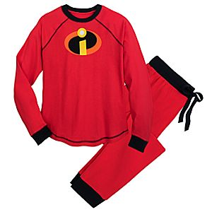 Image of Incredibles Logo Pajamas for Men