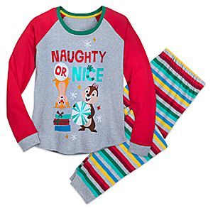 Image of Chip 'n Dale Christmas Pajamas for Women