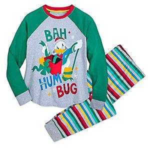 Image of Donald Duck Christmas Pajamas for Men