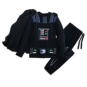 Image of Darth Vader Costume Pajama Set for Men