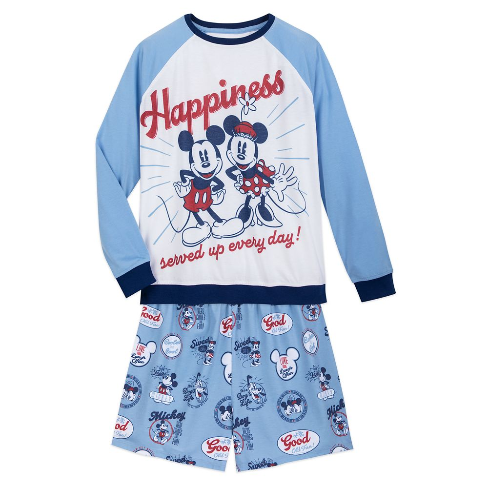 Mickey and Minnie Mouse Pajama Set for Women Official shopDisney