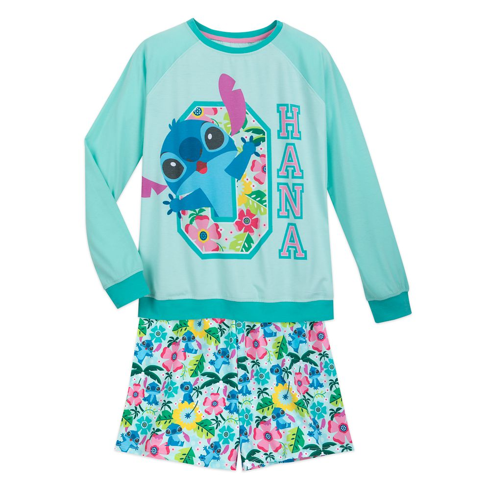 Stitch Pajama Set for Women
