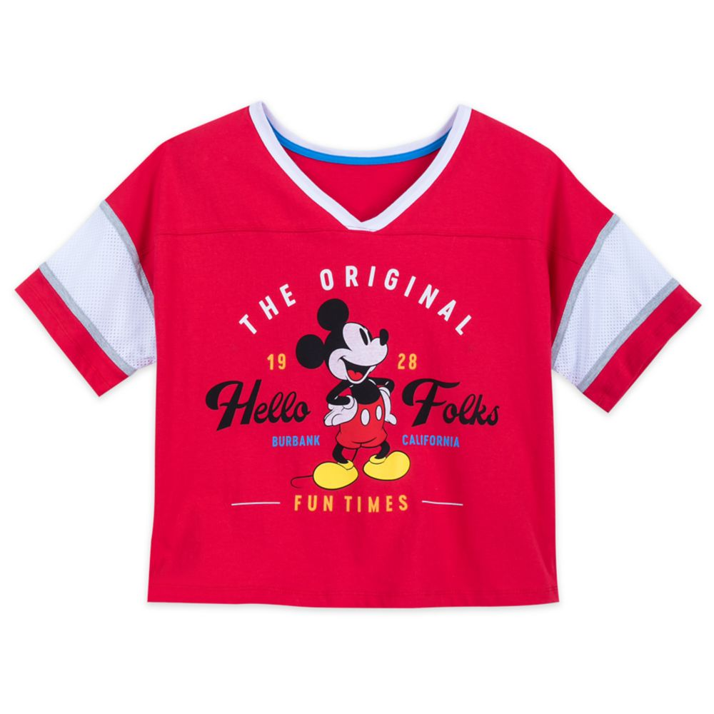 Mickey Mouse Pajama Set for Women
