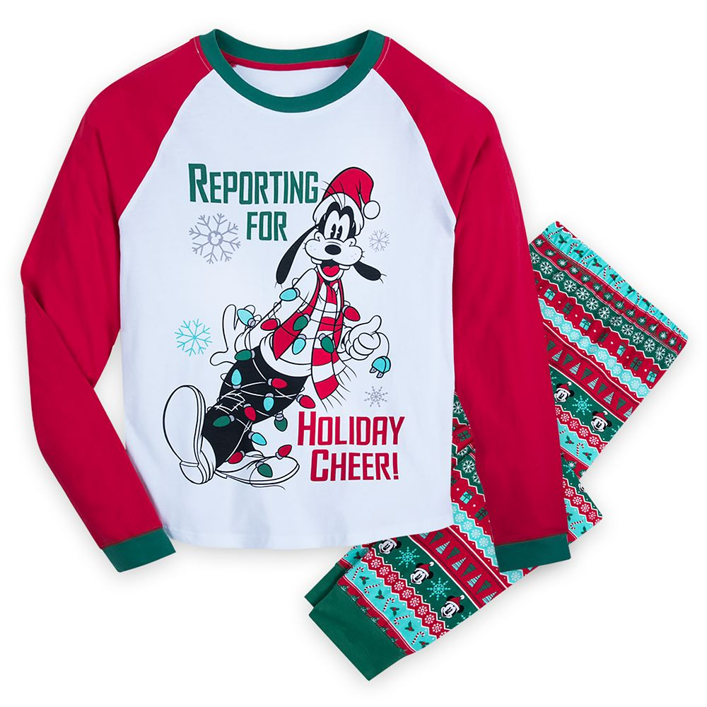 Goofy Holiday Pajamas for Men