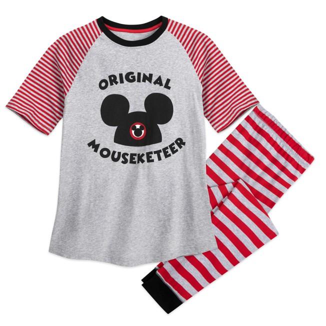 Mickey Mouse ''Original Mouseketeer'' PJ Set for Men