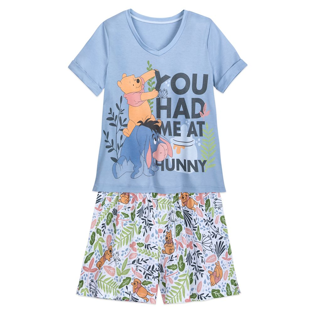 Winnie the Pooh and Eeyore Pajama Set for Women