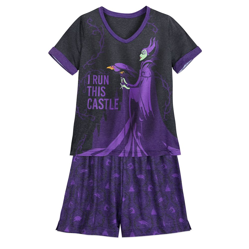 Maleficent Pajama Set for Women – Sleeping Beauty