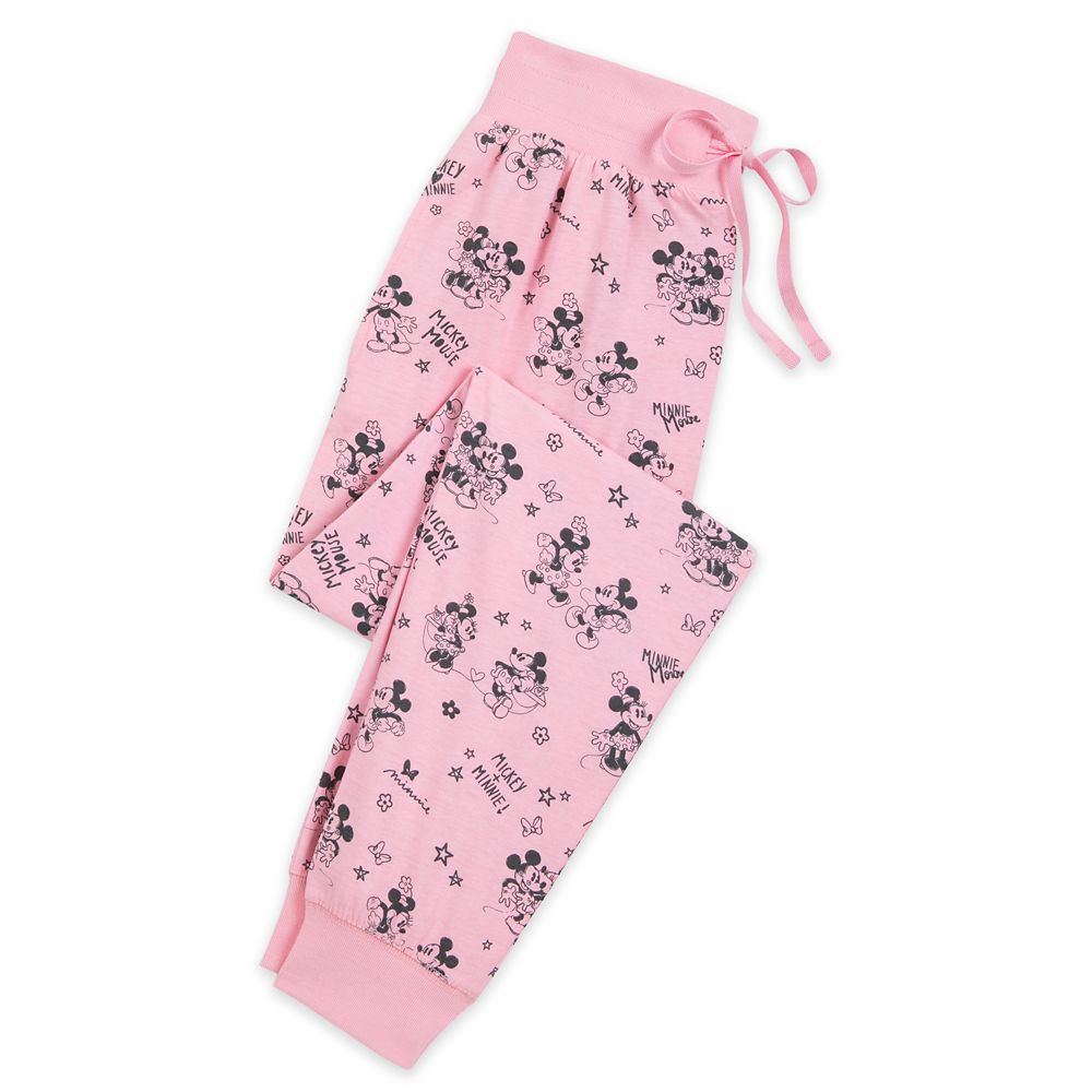 Mickey and Minnie Mouse Lounge Pants for Women