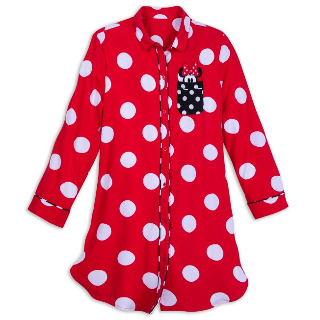 Minnie Mouse Long Sleeve Nightshirt for Women
