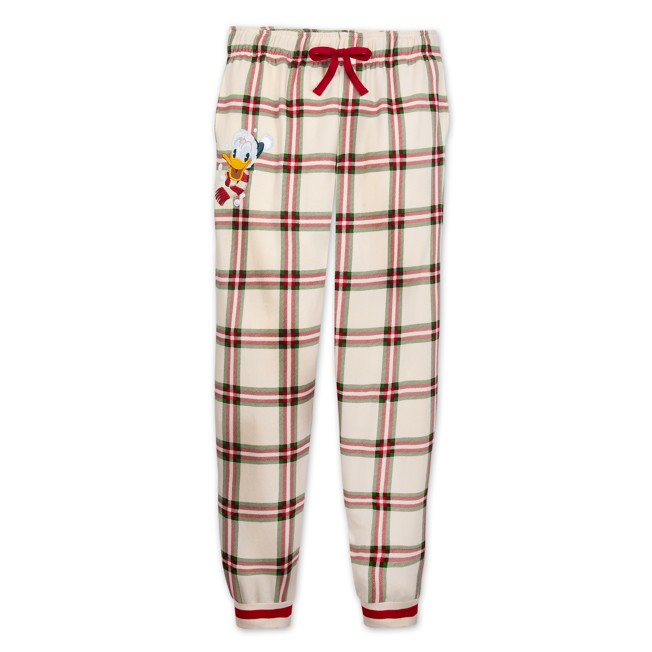 Donald Duck Holiday Lounge Pants for Adults