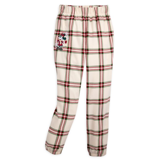 Minnie Mouse Holiday Lounge Pants for Women