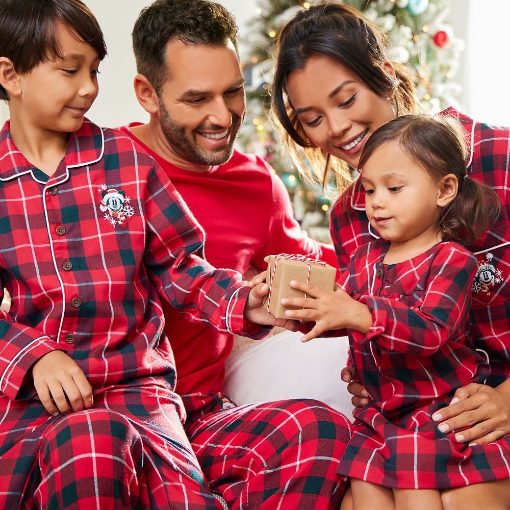 Mickey Mouse Holiday Plaid Flannel Lounge Pants for Men – Personalized