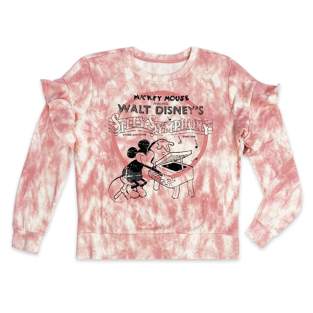 Mickey Mouse Tie-Dye Pullover for Women