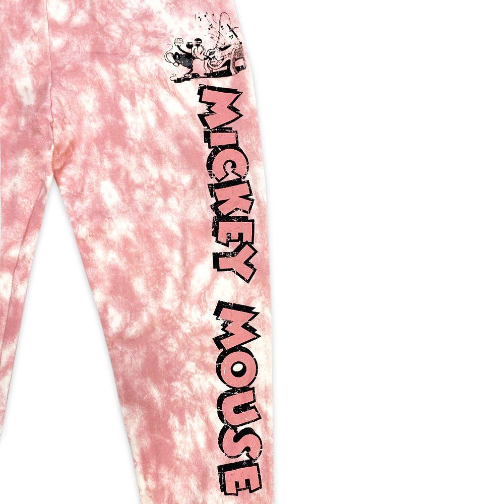 Mickey Mouse Tie-Dye Lounge Pants for Women