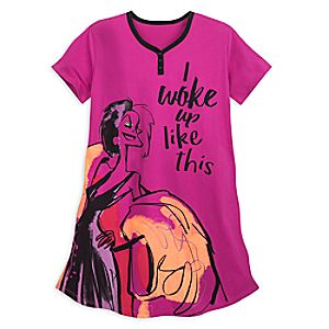Image of Cruella De Vil Nightshirt for Women - 101 Dalmatians