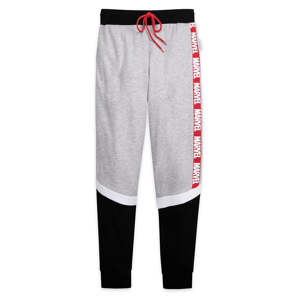 Marvel Logo Lounge Pants for Men by Our Universe
