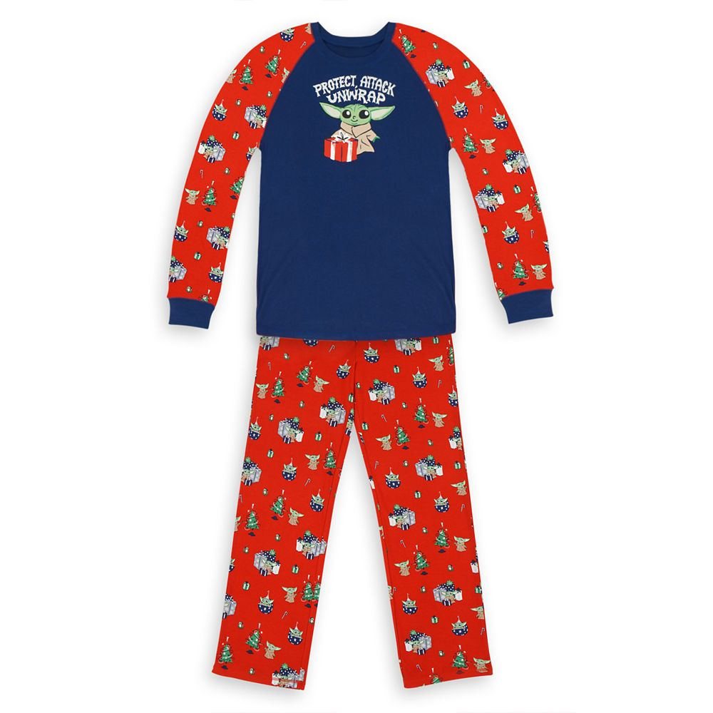 The Child Holiday Pajama Set for Men by Munki Munki – Star Wars: The Mandalorian
