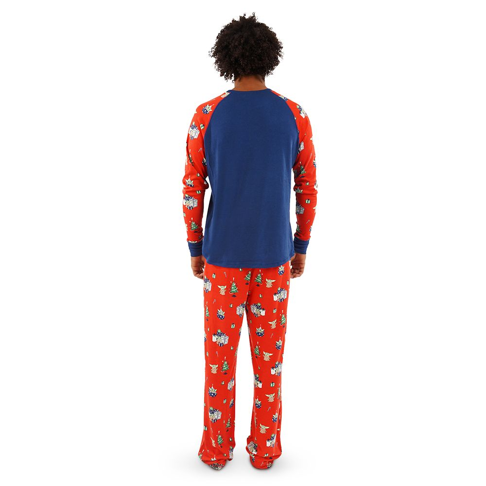 The Child Holiday Pajama Set for Men by Munki Munki – Star Wars: The Mandalorian