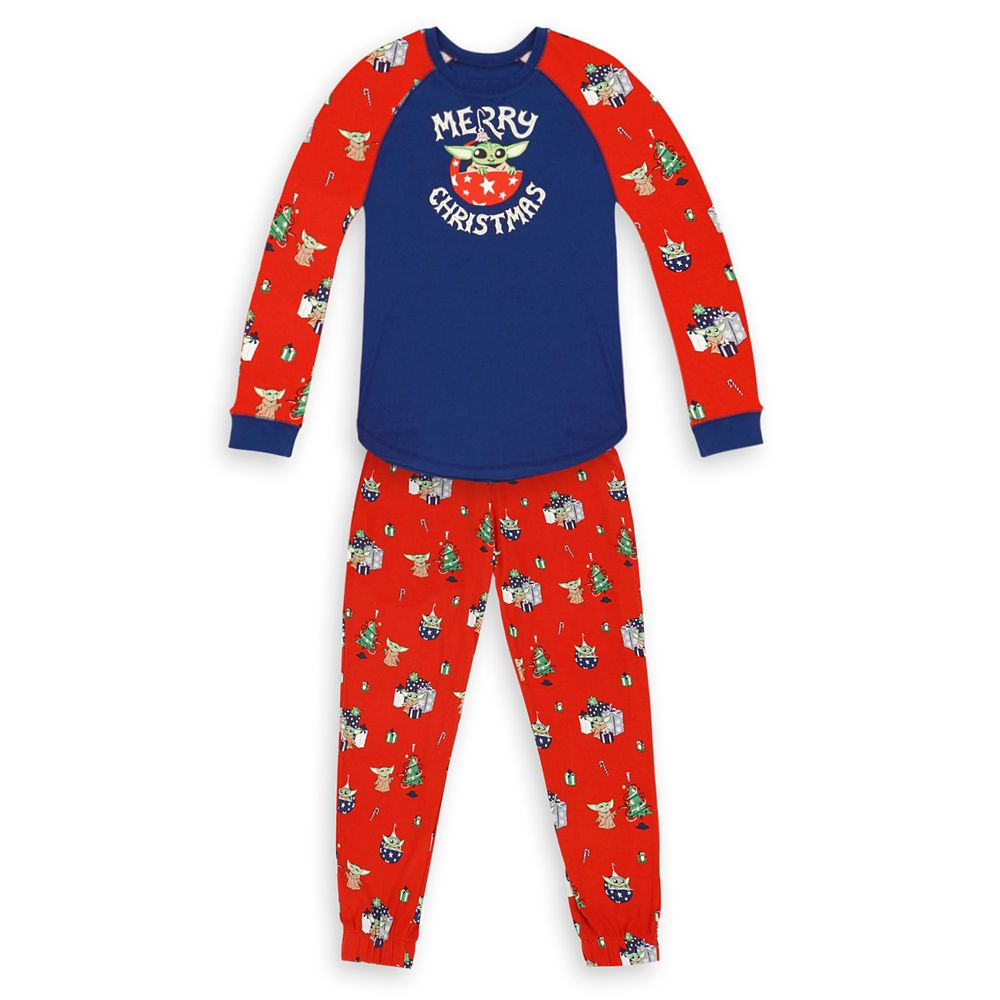 The Child Holiday Pajama Set for Women by Munki Munki – Star Wars: The Mandalorian