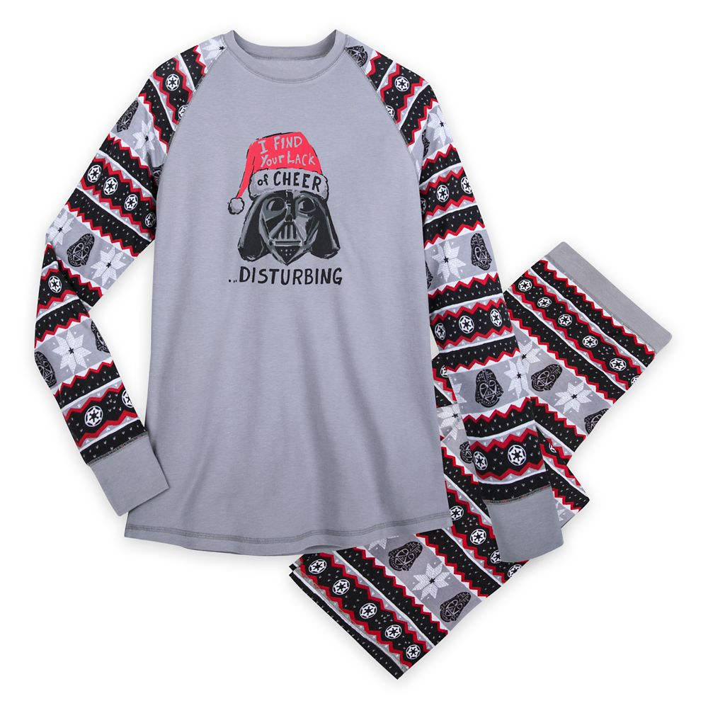 Darth Vader Holiday Pajama Set for Men by Munki Munki – Star Wars