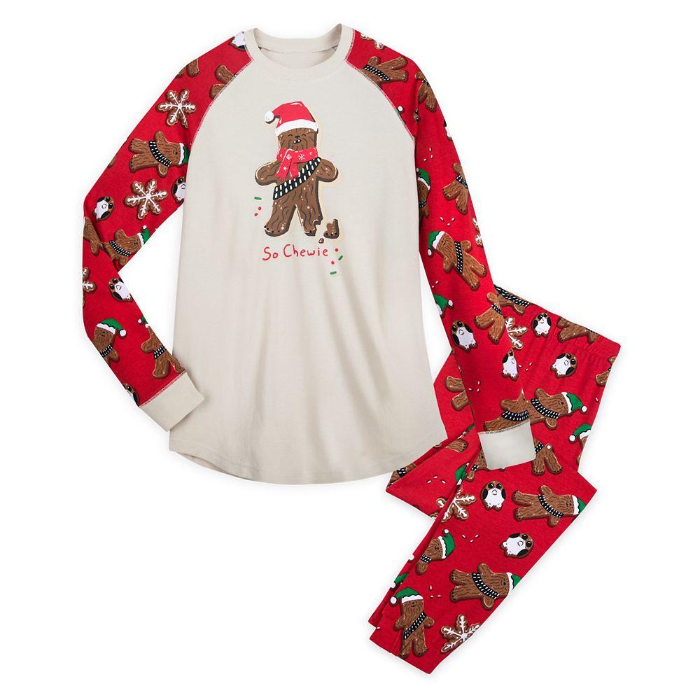 Chewbacca Holiday Pajama Set for Women by Munki Munki – Star Wars
