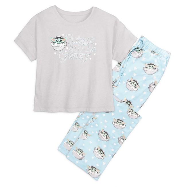 The Child Pajama Set for Women by Munki Munki – Star Wars: The Mandalorian