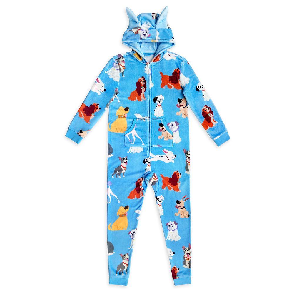 Disney Dogs One-Piece Pajama for Women