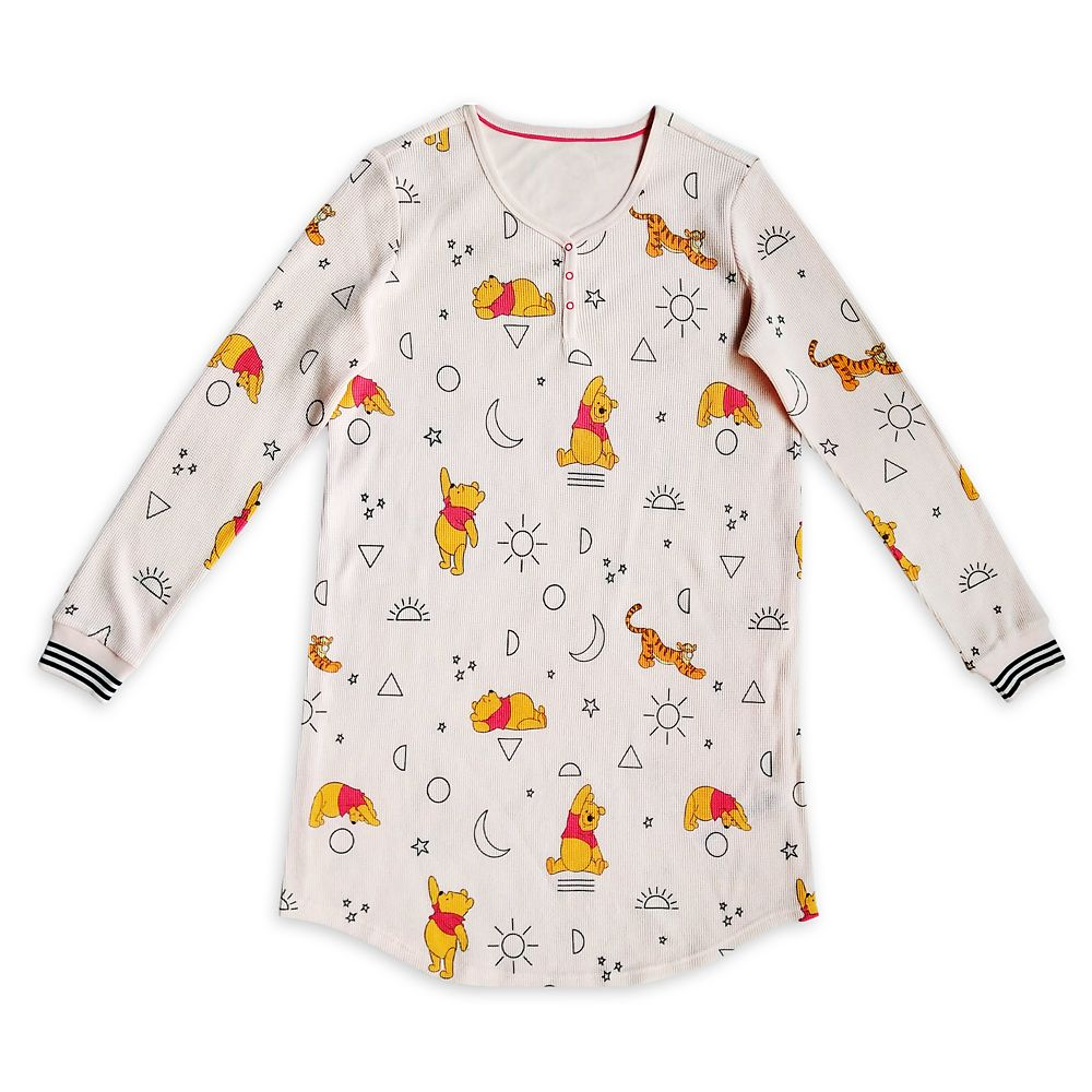 Winnie the Pooh Thermal Knit Nightshirt for Women