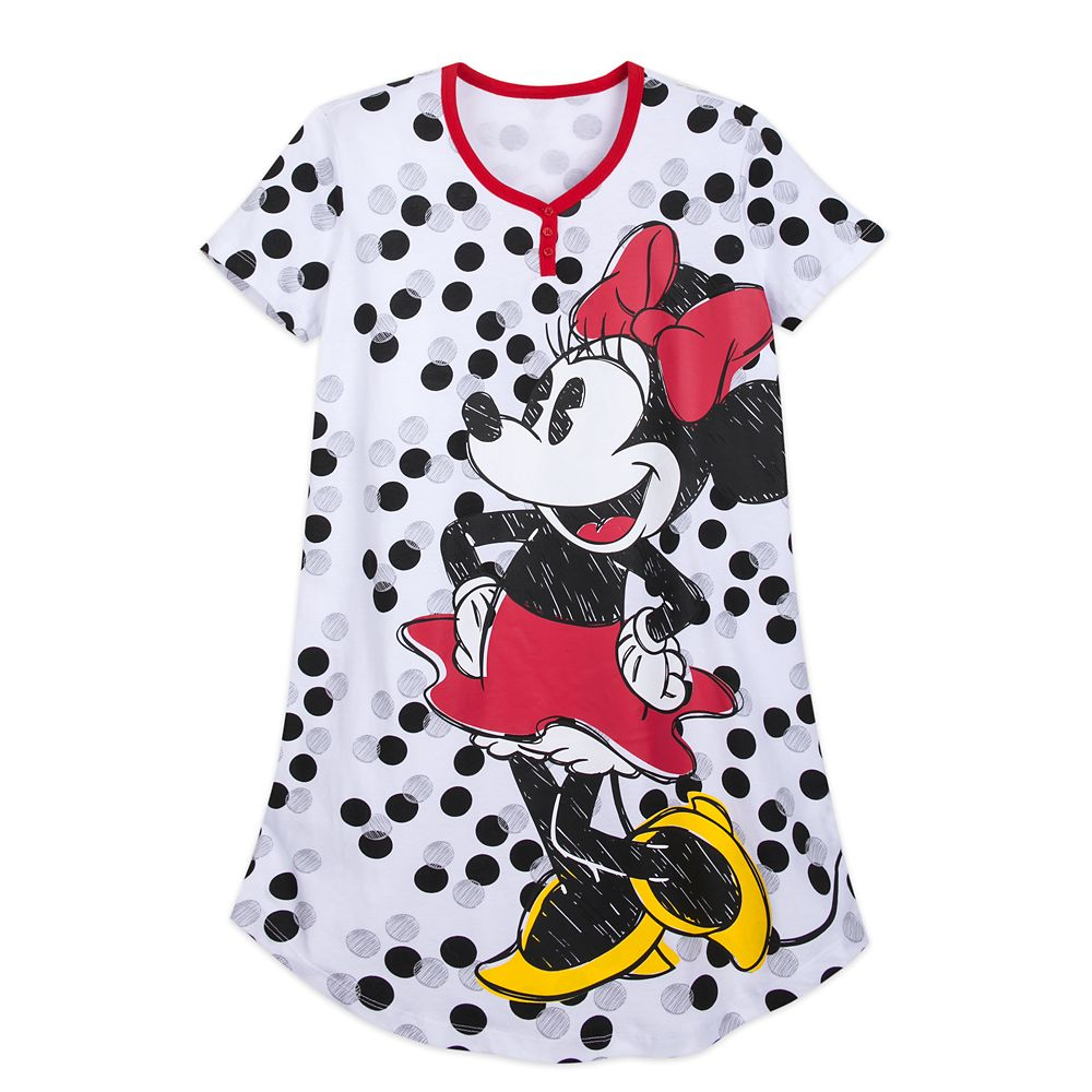 Minnie Mouse Polka Dot Nightshirt for Women