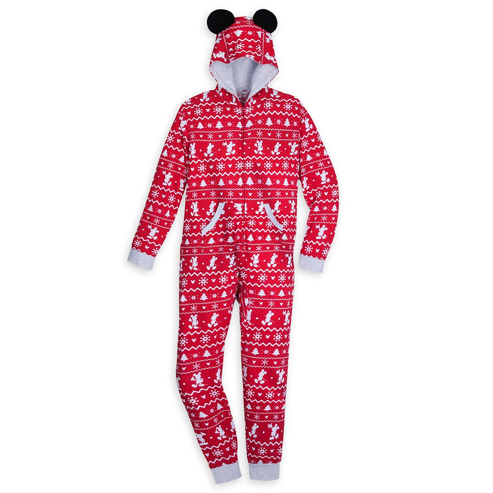 Mickey Mouse Bodysuit Pajama for Adults