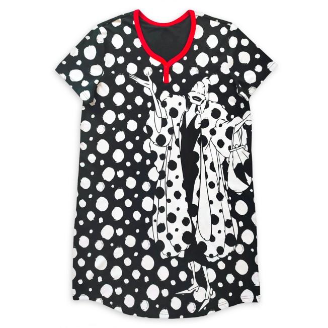 Cruella De Vil Nightshirt for Women – 101 Dalmatians