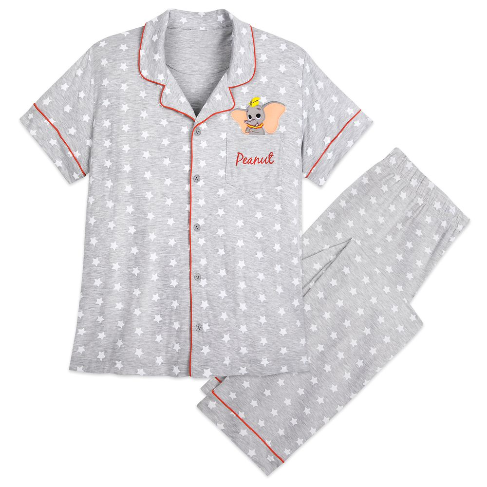 Womens Disney Dumbo Ladies 101 Dalmations Pyjamas Set Women/'s Sleepwear 8-22